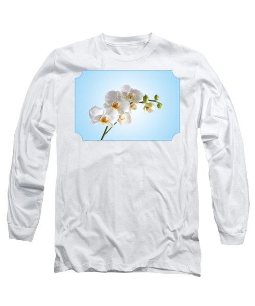 Elegance Long Sleeve T-Shirt by Gill Billington