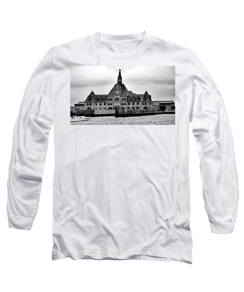 Ellis Island No. 49-3 Long Sleeve T-Shirt by Sandy Taylor