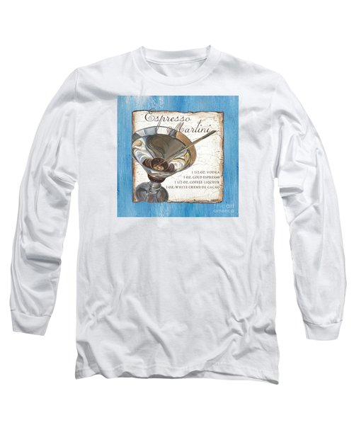 Espresso Martini Long Sleeve T-Shirt by Debbie DeWitt