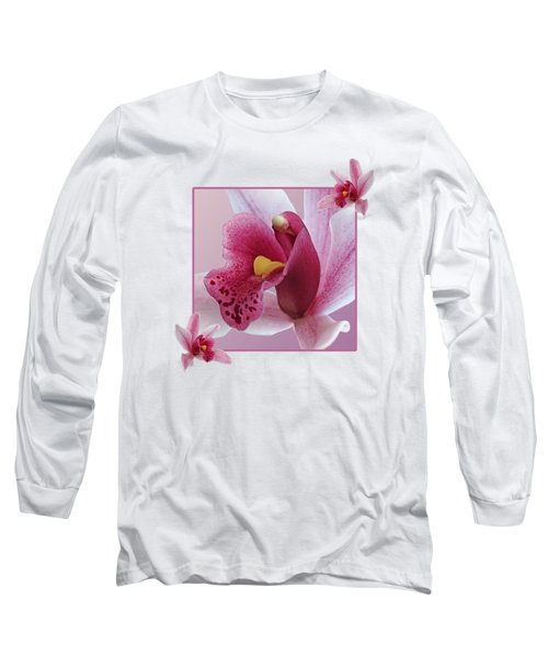 Exotic Temptation Long Sleeve T-Shirt by Gill Billington