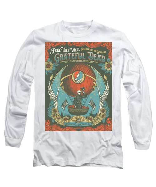 Fare Thee Well Long Sleeve T-Shirt by Gd