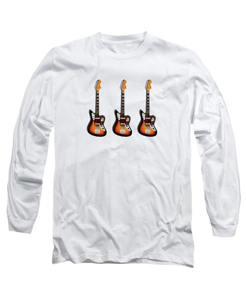 Fender Jaguar 67 Long Sleeve T-Shirt by Mark Rogan