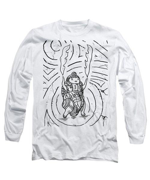 Firestarter Long Sleeve T-Shirt by Erki Schotter