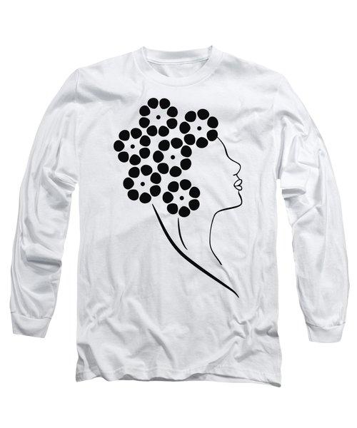Flower Girl Long Sleeve T-Shirt by Frank Tschakert