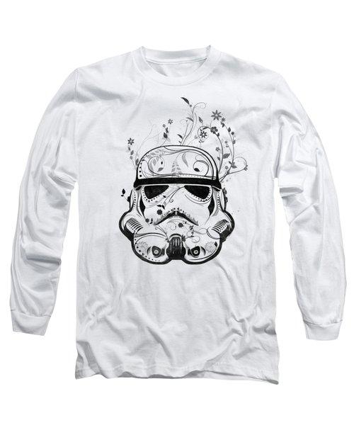 Flower Trooper Long Sleeve T-Shirt by Nicklas Gustafsson