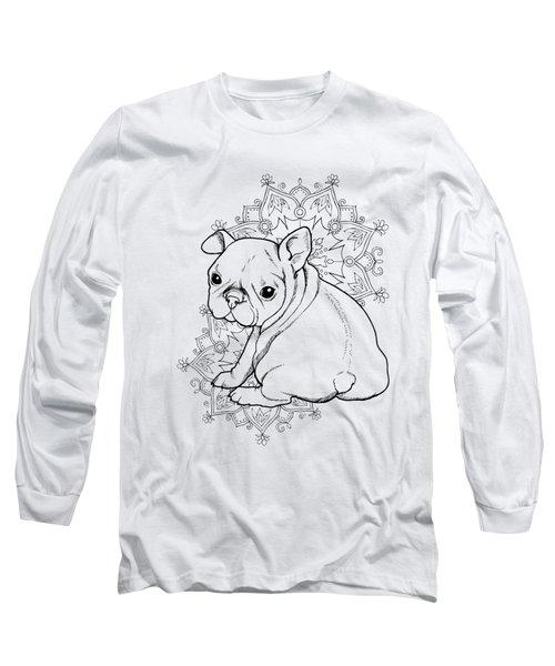 French Bulldog Puppy Long Sleeve T-Shirt by Cindy Elsharouni