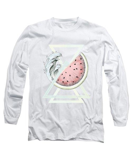 Fresh Long Sleeve T-Shirt by Barlena