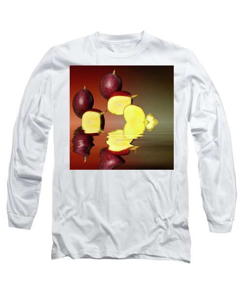 Fresh Ripe Mango Fruits Long Sleeve T-Shirt by David French