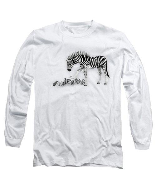 Friends Long Sleeve T-Shirt by Jutta Maria Pusl