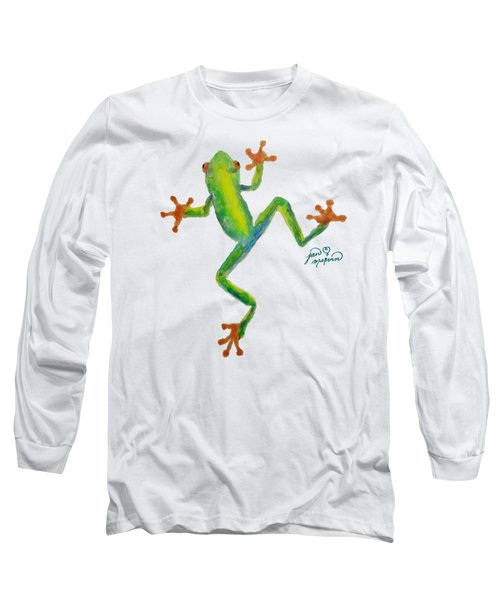 Red Eyed Tree Frog By Jan Marvin Long Sleeve T-Shirt by Jan Marvin