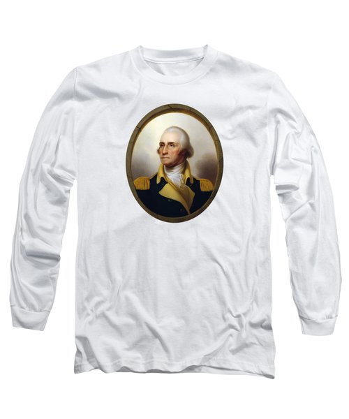 General Washington Long Sleeve T-Shirt by War Is Hell Store