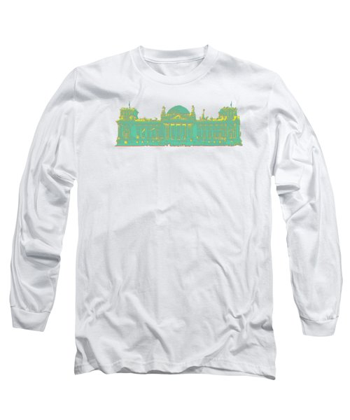 Germany Reichstag Dots Long Sleeve T-Shirt by Frank Hoven