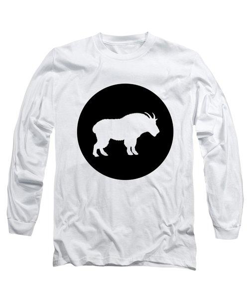 Goat Long Sleeve T-Shirt by Mordax Furittus