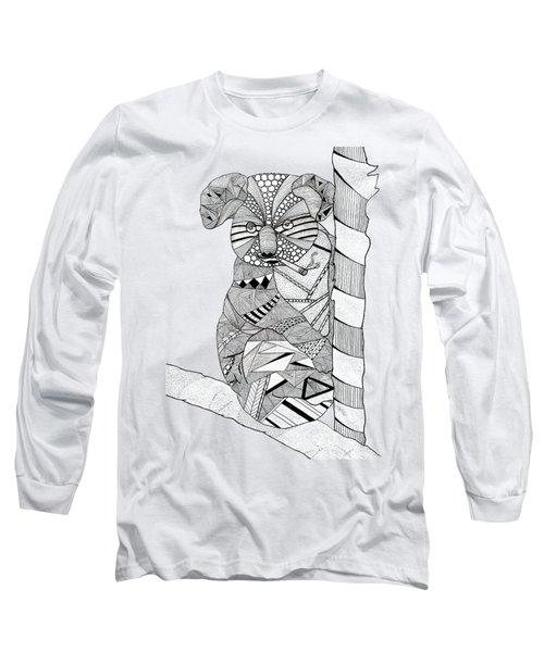 Goo Long Sleeve T-Shirt by Serkes Panda