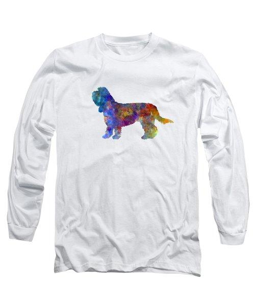 Grand Basset Griffon Vendeen In Watercolor Long Sleeve T-Shirt by Pablo Romero