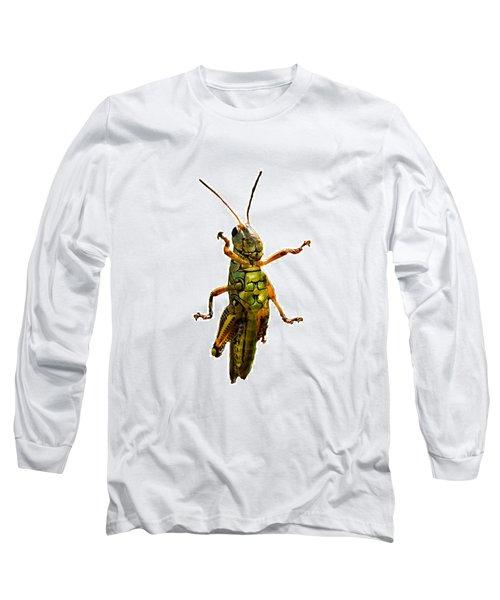Grasshopper II Long Sleeve T-Shirt by Gary Adkins