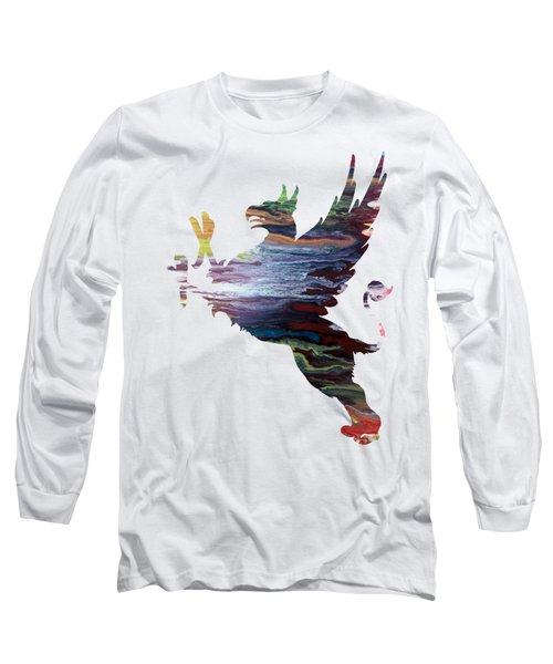 Griffon Long Sleeve T-Shirt by Mordax Furittus