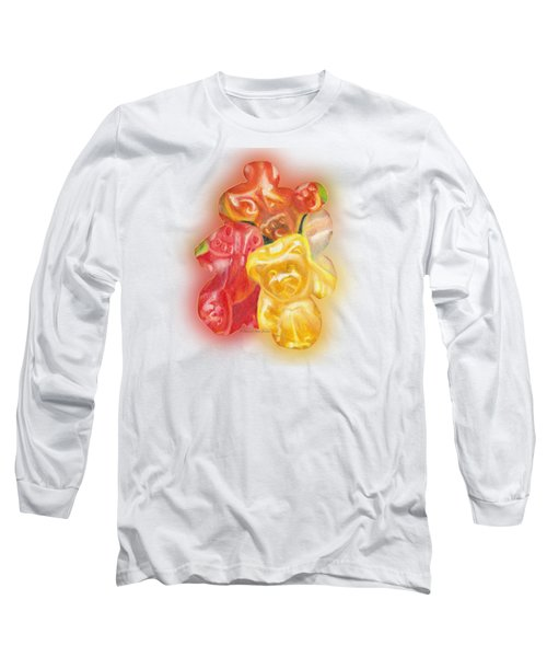Gummy Bear Long Sleeve T-Shirt by Shana Rowe Jackson