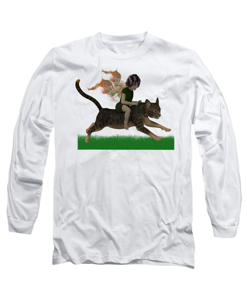 Having Fun Long Sleeve T-Shirt by Nancy Pauling