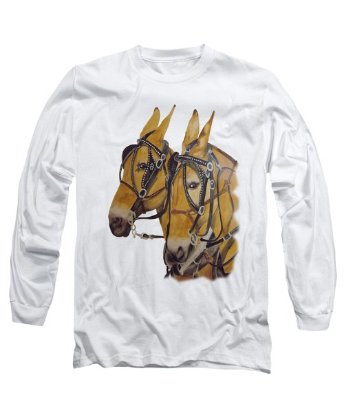 Hitched #2 Long Sleeve T-Shirt by Gary Thomas