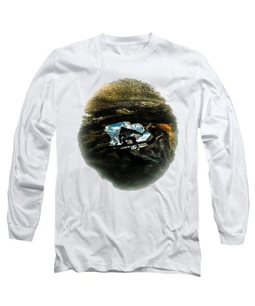 I Seen The Yeti Long Sleeve T-Shirt by Gary Keesler
