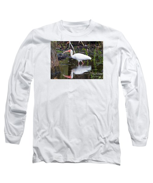 Ibis Drink Long Sleeve T-Shirt by Mike Dawson