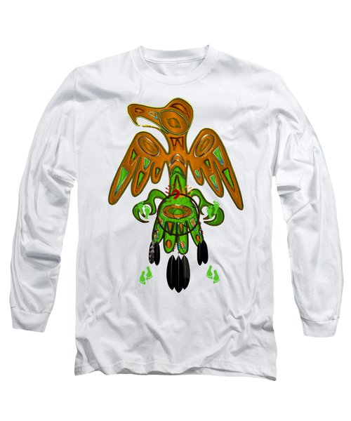 Imprint Native American Long Sleeve T-Shirt by Sharon and Renee Lozen