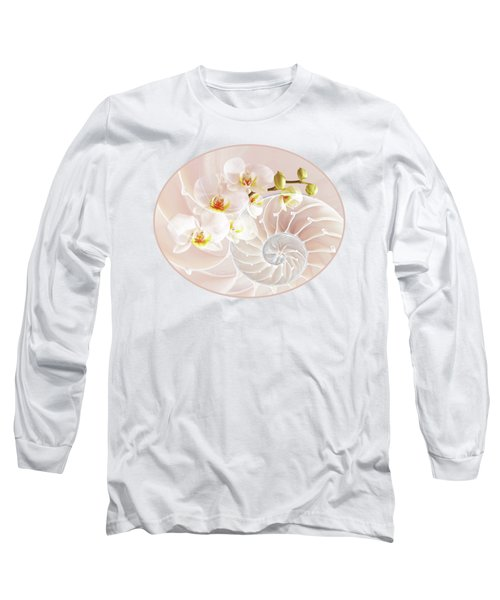 Intimate Fusion In Soft Pink Long Sleeve T-Shirt by Gill Billington