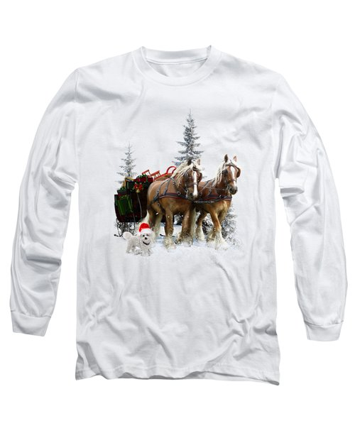 A Christmas Wish Long Sleeve T-Shirt by Shanina Conway