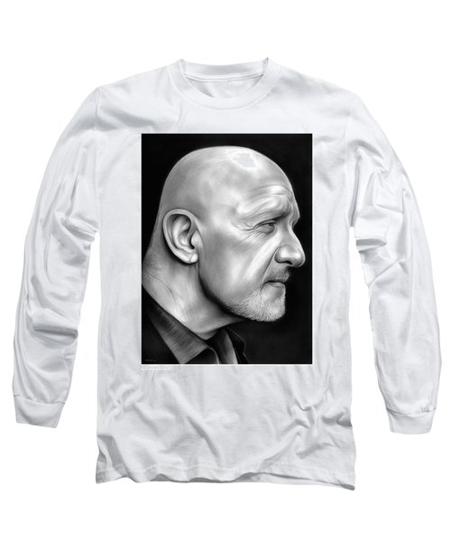 Jonathan Banks Long Sleeve T-Shirt by Greg Joens