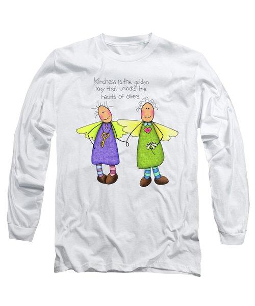 Kindness Long Sleeve T-Shirt by Sarah Batalka
