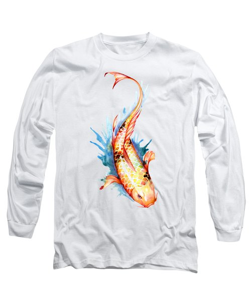 Koi Fish II Long Sleeve T-Shirt by Sam Nagel