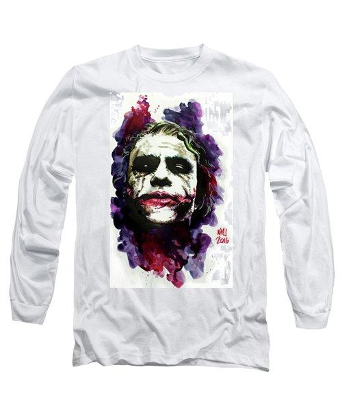 Ledgerjoker Long Sleeve T-Shirt by Ken Meyer jr