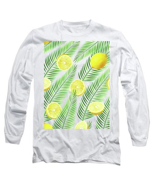 Lemons Long Sleeve T-Shirt by Uma Gokhale