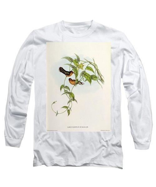 Leucippus Fallax Long Sleeve T-Shirt by John Gould