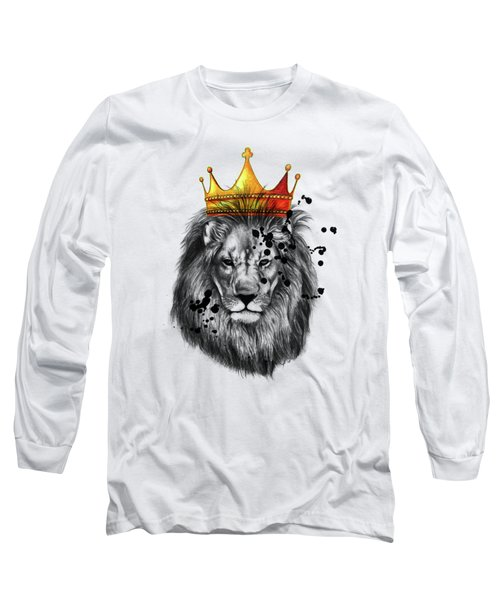 Lion King  Long Sleeve T-Shirt by Mark Ashkenazi