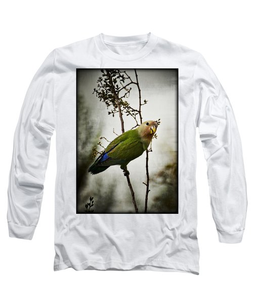 Lovebird  Long Sleeve T-Shirt by Saija  Lehtonen