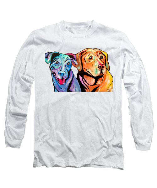 Maggie And Raven Long Sleeve T-Shirt by Abbi Kay