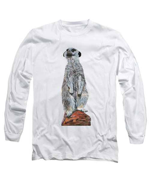 Meer Curiosity Custom Long Sleeve T-Shirt by Lee Wolf Winter