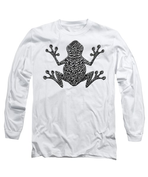 Metallic Frog Long Sleeve T-Shirt by Chris Butler
