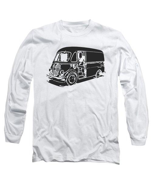 Metro Step Van Tee Long Sleeve T-Shirt by Edward Fielding