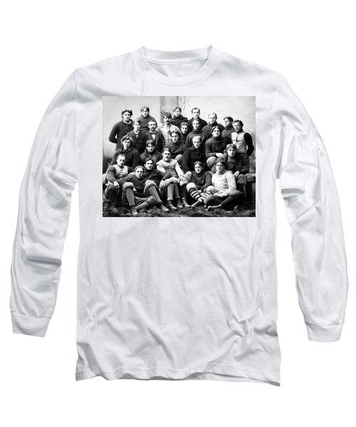 Michigan Wolverines Football Heritage  1895 Long Sleeve T-Shirt by Daniel Hagerman