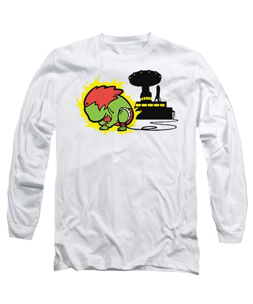 Monster Long Sleeve T-Shirt by Opoble Opoble