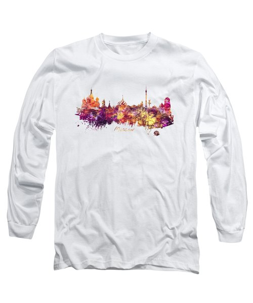 Moscow Long Sleeve T-Shirt by Justyna JBJart