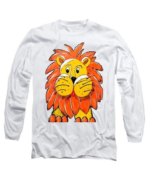 Mr. Lion Long Sleeve T-Shirt by Tami Dalton