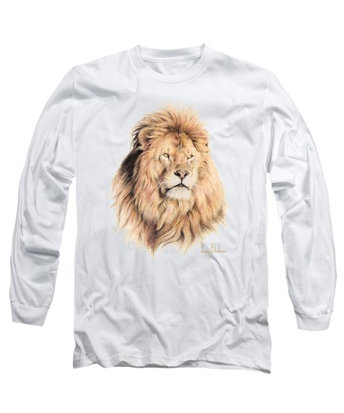 Mufasa Long Sleeve T-Shirt by Lucie Bilodeau