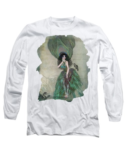 Mysterieuse Long Sleeve T-Shirt by Terry Fleckney