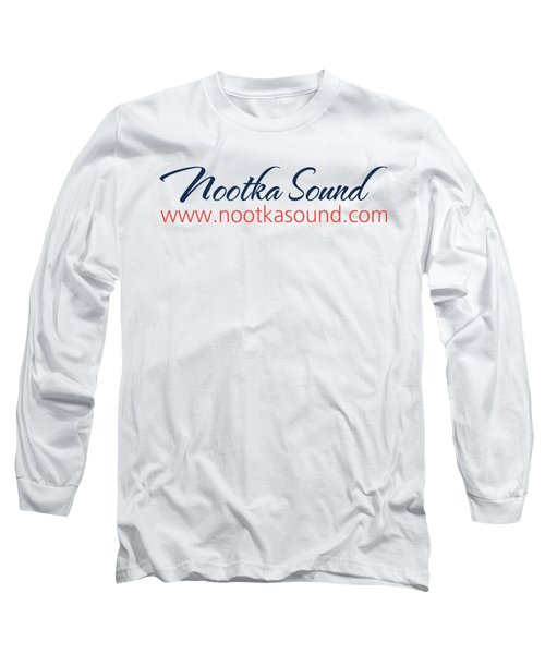Ns Logo #1 Long Sleeve T-Shirt by Nootka Sound
