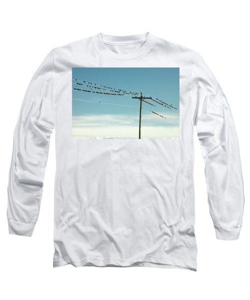 Not Like The Others Long Sleeve T-Shirt by Todd Klassy