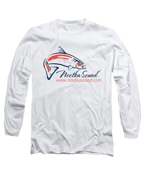Ns Logo #4 Long Sleeve T-Shirt by Nootka Sound